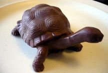 SWEET DREAMS / DIVINE CHOCOLATE SCULPTURES / by THEARY HORN