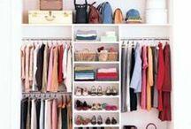 Ordnung im Kleiderschrank / Schöne Ordnungssysteme für Kleiderschränke zum Nach- und Selbermachen.
