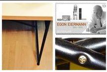 Der Eiermann Tisch: eine Design-Geschichte, die Sie kennen müssen / Eine Tischplatte, ein paar Kreuzstreben – fertig ist das Eiermann-Tischgestell. 1953 wurde der Designklassiker entworfen und ist noch heute beliebt, dank seiner unkomplizierten Machart. Wir stellen Ihnen die Entstehungsgeschichte des Eiermann Tischs etwas genauer vor und zeigen, was ihn zur Möbel-Ikone macht.