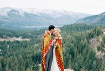 Where to Wed: Mountains / Wedding destination, mountain weddings, mountain wedding decorations, mountain wedding centerpieces, gift ideas, wedding favors, cool wedding ideas