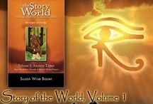 """""""Story of the World"""", Volume 1 Extra Activities / Any extra activities that can help bring alive our homeschool history curriculum, """"Story of the World"""".  We love homeschooling and we love Story of the World, and anything extra to help bring it all alive is amazing!"""