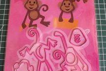 Eline's Monkey Marianne Design Collectables COL1399 / Niet alleen door mij gemaakt