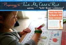 """Teach Your Child to Read in 100 Easy Lessons / Anything helpful or supplementary for the DISTAR reading program, """"Teach Your Child to Read in 100 Easy Lessons"""" that is such an amazing homeschooling program."""
