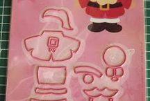 Eline's Santa  Marianne Design Collectables COL1391 / Kaarten waar de kerstman bij gebruikt is. Niet alleen kaarten van mezelf.