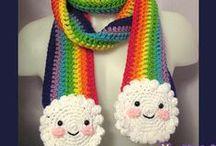 accesorios crochet  / by Debo Tabares