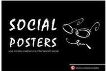 social posters / diseño social: sensibilización e intervención social
