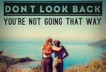 Quotes and Inspiration / Great quotes and inspiration about traveling and living abroad.
