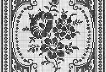 Monochromatic Cross Stitch / by Tyra Lochamy