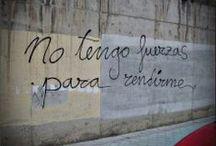 garabatos de acción poética / Poesía a pie de calle