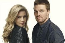 Arrow. / Oliver & Felicity. / by Maja.
