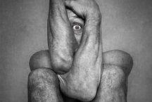 """Appuntamento con la paura - #paura90 / Paura è quando non sai dare nome a qualcosa che non conosci #paura90  Mood board ispirata alla raccolta di racconti """"Appuntamento con la paura"""" di Alessia Savi."""