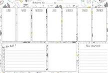 Agendas et calendriers / Tout pour planifier sa vie
