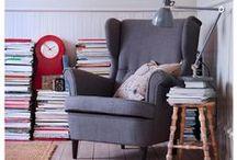 Lese-Ecken zum Träumen / Ob Sessel, Betten, Couches oder doch ganz anders - so wunderschön würden wir uns gerne mit einem neuen Roman einkuscheln.  #Leseecke
