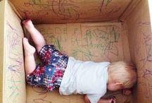 Aktivitäten für und mit Babys / Wie kann ich mich mit meinem Baby beschäftigen? Ideen für Spiele mit Babys, Motorikspiele, Beschäftigungsideen für Neugeborene. Massage für Babys und Activity-Boards.