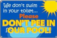 Swimming Signs / Swimming Signs for your pool, lake, or beach.