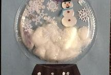 Holiday Cheer / Cute and fun holiday crafts perfect for infants to pre-k age