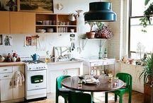 Dining-room/kitchen