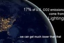 Energy Efficient Lighting / New lighting is an easy way to reduce your carbon footprint