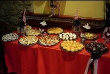 Decoración de mesas y Catering / Elegantes, divertidas y originales decoraciones de mesas y gran variedad de bocaditos dulces y salados.