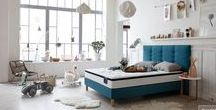 Chambres de rêve & literies Grand Litier / Découvrez les plus belles chambres Grand Litier utilisées pour mettre en scène les différents conforts des matelas, les sommiers sélectionnés par nos experts du sommeil et du linge de lit pour habiller vos nuits