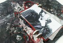 My Layouts / Scrapbooking. CAS, Mixed-media, Freestyle