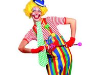 Clowning Around / Make 'em laugh with a classic clown costume and laughter-inducing accessories.