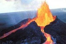 nature: vulkanen   vulcanoes   volcanes   / by Ben (1) H.E. Wieseman
