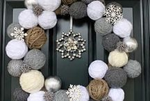 Christmas Crafting / A selection of Christmas Handmade goodies - both knitted and crocheted for a bit of festive inspiration