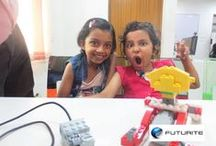 STEM Activity Workshops / Futurite brings world-class STEM education to kids in Kolkata. We are holding FREE workshops on every week to give children a taste of the amazing world of robotics, 3D printing and computer programming. Register http://www.futurite.in/latest-workshop/