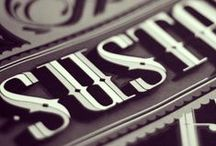 • Type / Lettering / custom type - calligraphy - hand lettering - found type - beautiful typefaces / by Inkwell Studio NZ