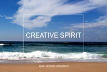 Inspiring Creative Spirit / Find inspiration from artists, musicians and creative souls who inspire the world with their independent spirit and personal vision of beauty, art, music, dance, writing, theatre, poetry & way of living life.