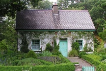 stone and fairy-tale cottages / More small dwellings can be found on our boards Cottages and Small Houses, Small Cabins, Small Floating Homes, and Tree Houses. / by Small House Bliss