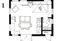 small house floor plans / by Small House Bliss