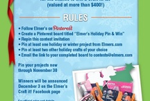 Elmer's Holiday Pin and Win
