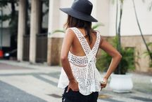 spring and summer. / spring and summer wardrobe inspiration.  / by Gabby