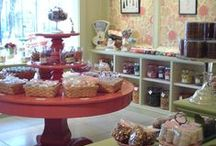 Merchandising, displaying & setting up a tea room / coffee shop / bakery