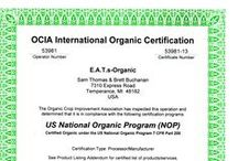 USDA Organic / All things USDA Certified Organic