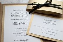 Wedding Invitation / Simple & Unique wedding invitation reference