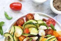 ✿ Plats // Salades - Healthy ✿ / #Healthy #Diet #Légumes #HappyFood