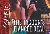 The Tycoon's Fiancee Deal / Inspiration board for Katherine Garbera's The Wild Caruthers book 2