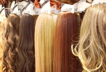 all about myhair Barcelona: extensions, hairpieces, buns... / Here you can see some of our products.