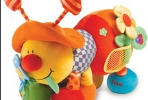Sensory Plush Toys / Sensory Plush Toys that provide visual, touch and auditory stimulation for young children with special needs. Fabulous bright, high contrast colours and textures.