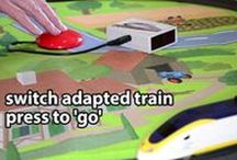 Toy Videos / Videos of switch adapted special needs toys.