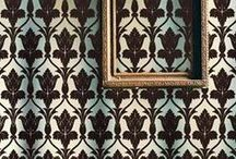 Decor inspiration / inspiration for the new home, obviously I'm obsessed with damask. / by Lace Benanti