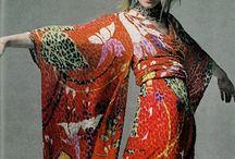 Robe Kimono / Couture de tissus plissés...