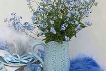 schönes in blau