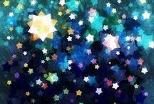 """La tête dans les étoiles / """"Il est grand temps de rallumer les étoiles"""" Guillaume Apollinaire."""