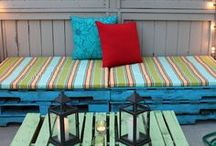 Pallet Designs / Everything made with pallets! Like a design you see? Why not make it!!