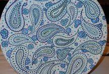 Paisley und andere schöne Muster