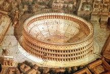 Roma / Showing how the eternal City looked in time of its founders.